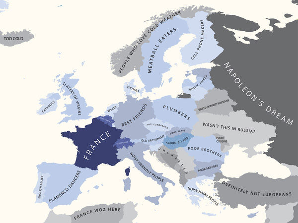A Europa segundo a França
