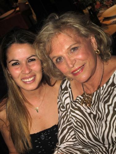 Flávia Jorge e Shirley Garcia