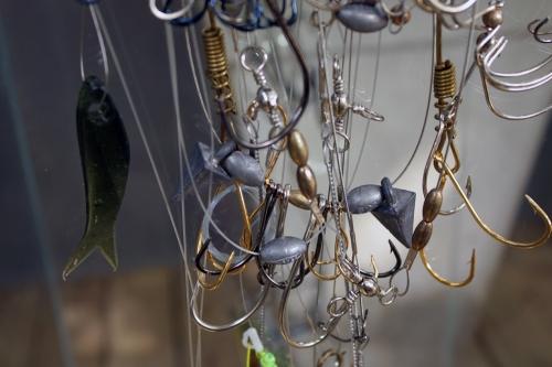 Gabriel Pessagno, Material de Pesca e Pérolas